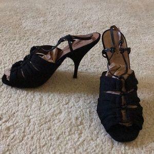 Beautiful Alaia Paris black heels Sz 40